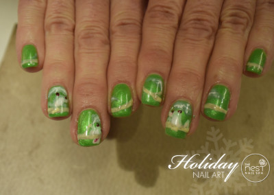 The Nest Nail Spa - Nail Art - Seasonal - 34