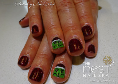 The Nest Nail Spa - Nail Art - Seasonal - 36
