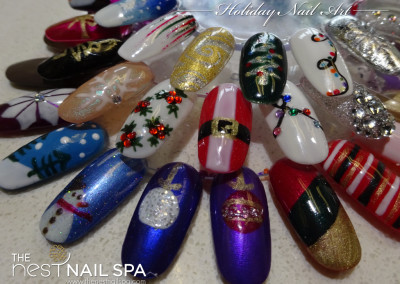 The Nest Nail Spa - Nail Art - Seasonal - 44