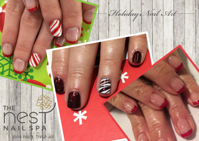 The Nest Nail Spa - Nail Art - Seasonal - 46